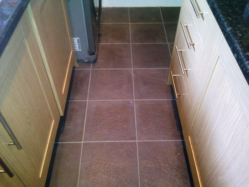 Kitchen Tile After Cleaning