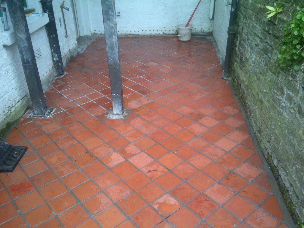 Quarry Tile Restoration After