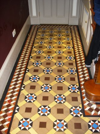 Victorian Floor After Restoration