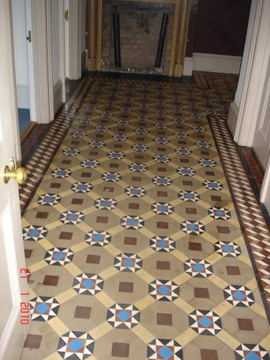 Victoria Floor Restored by the Kent Tile Doctor