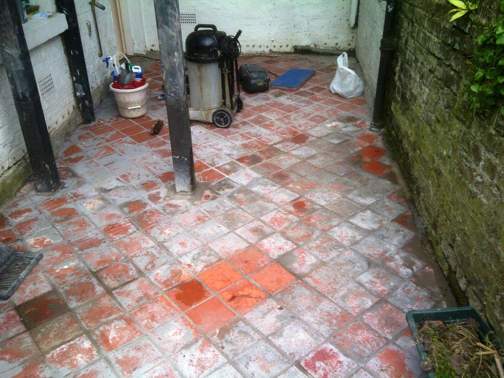 Quarry Tile Restoration Tester