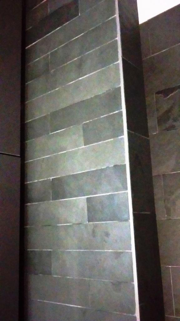 Slate Tiled Floor After Restoration Sevenoaks
