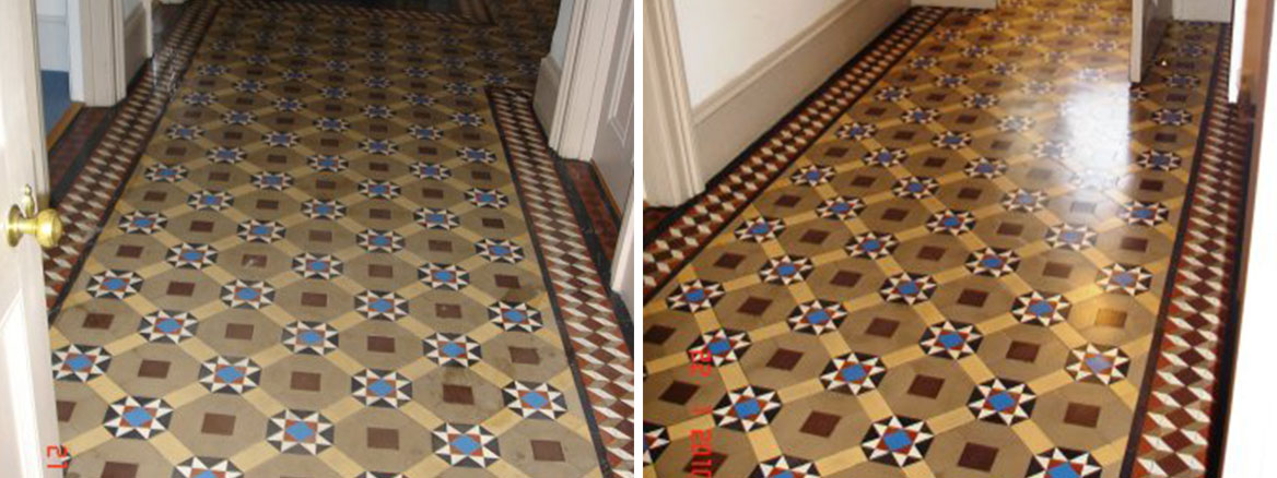 Victorian Floor Restoration Before and After